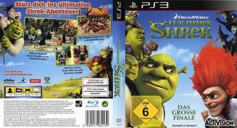 Für Immer Shrek PS3 cover (BLES00837)