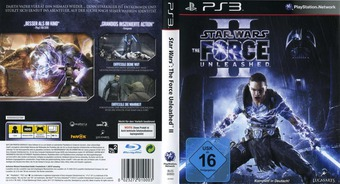 Star Wars: The Force Unleashed II PS3 cover (BLES00893)