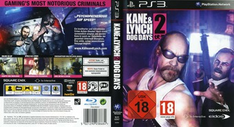 Kane & Lynch 2: Dog Days PS3 cover (BLES00947)