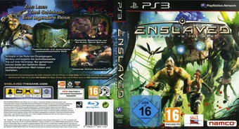 Enslaved: Odyssey to the West PS3 cover (BLES00989)