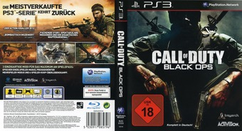 Call of Duty: Black Ops PS3 cover (BLES01033)