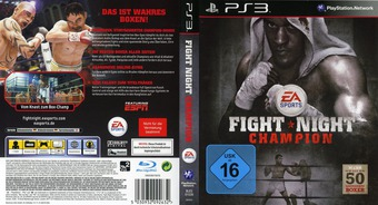 Fight Night Champion PS3 cover (BLES01039)