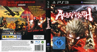 Asura's Wrath PS3 cover (BLES01227)