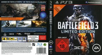 Battlefield 3 PS3 cover (BLES01275)