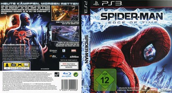 Spider-Man: Edge of Time PS3 cover (BLES01291)
