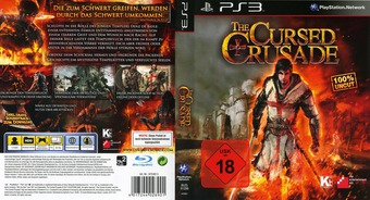 The Cursed Crusade PS3 cover (BLES01299)