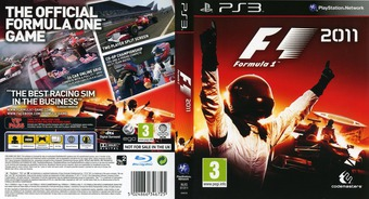 F1 2011 PS3 cover (BLES01311)