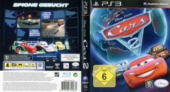 Cars 2: The Video Game PS3 cover (BLES01328)