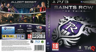 Saints Row:The Third PS3 cover (BLES01748)