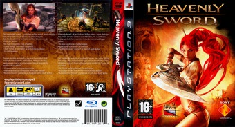 Heavenly Sword PS3 cover (BCES00078)