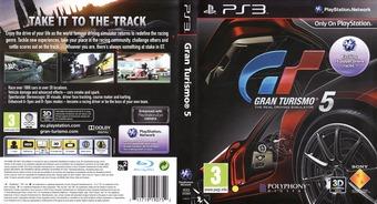 Gran Turismo 5 PS3 cover (BCES00569)