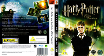 Harry Potter and the Order of the Phoenix PS3 cover (BLES00070)