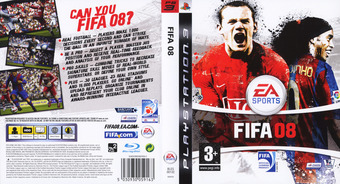 FIFA 08 PS3 cover (BLES00132)