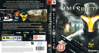 TimeShift PS3 cover (BLES00159)