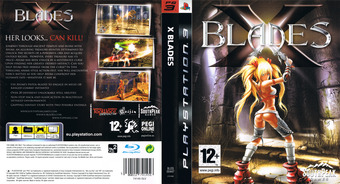 X-Blades PS3 cover (BLES00447)