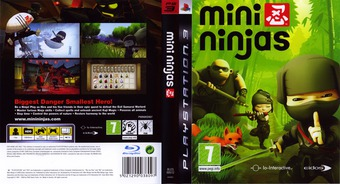 Mini Ninjas PS3 cover (BLES00512)