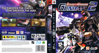 Dynasty Warriors: Gundam 2 PS3 cover (BLES00528)