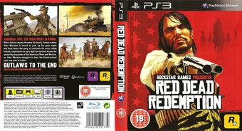 Red Dead Redemption PS3 cover (BLES00680)