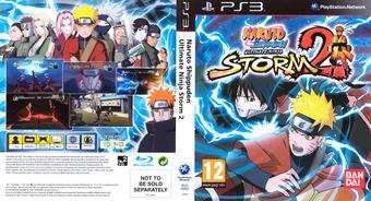 Naruto: Ninja Storm 2 PS3 cover (BLES00952)