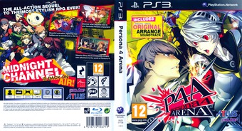 Persona 4 Arena PS3 cover (BLES01738)