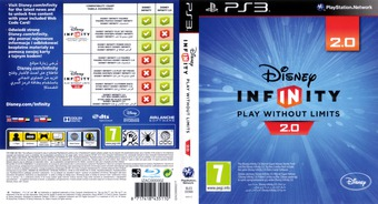Disney Infinity: Marvel Super Heroes - 2.0 Edition PS3 cover (BLES02066)