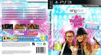 SingStar Patito Feo PS3 cover (BCES00873)