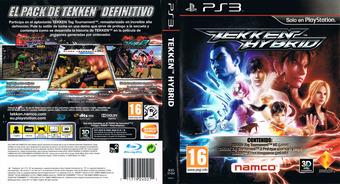 Tekken Hybrid PS3 cover (BCES01454)