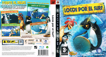 Surf's Up PS3 cover (BLES00082)