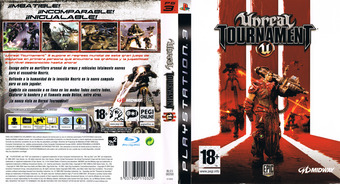 Unreal Tournament 3 PS3 cover (BLES00200)