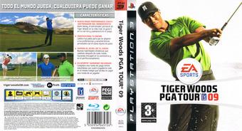 Tiger Woods PGA Tour 09 PS3 cover (BLES00295)