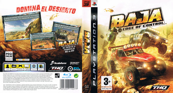 Baja: Edge of Control PS3 cover (BLES00359)