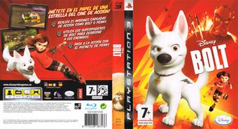 Bolt PS3 cover (BLES00414)