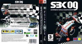 SBK-09 Superbike World Championship PS3 cover (BLES00536)