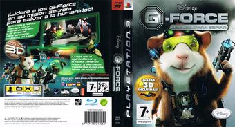 G-Force: Licencia para Espiar PS3 cover (BLES00572)