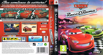 Cars: Race-O-Rama PS3 cover (BLES00620)