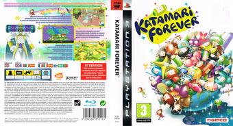 Katamari Forever PS3 cover (BLES00658)