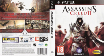 Assassin's Creed II PS3 cover (BLES00669)