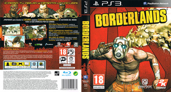 Borderlands PS3 cover (BLES00697)