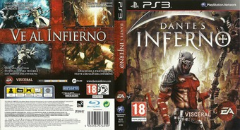 Dante's Inferno PS3 cover (BLES00714)