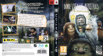 Donde viven los Monstruos PS3 cover (BLES00724)