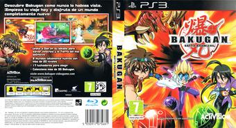 Bakugan Battle Brawlers PS3 cover (BLES00758)