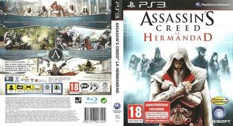 Assassin's Creed: La Hermandad PS3 cover (BLES00909)
