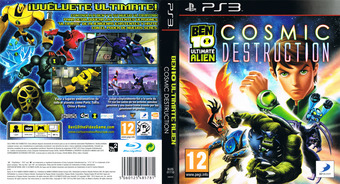 Ben 10: Ultimate Alien - Cosmic Destruction PS3 cover (BLES01110)
