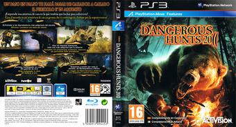 Cabela's Dangerous Hunts 2011 PS3 cover (BLES01112)