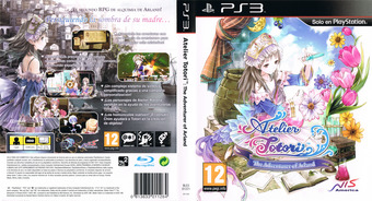 Atelier Totori: The Adventurer of Arland PS3 cover (BLES01221)