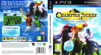 Champion Jockey: G1 Jockey & Gallop Racer PS3 cover (BLES01235)