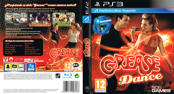Grease Dance PS3 cover (BLES01410)