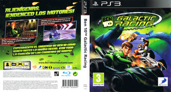 Ben 10: Galactic Racing PS3 cover (BLES01469)