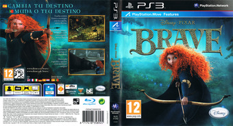 Brave: The Video Game PS3 cover (BLES01542)