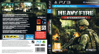 Heavy Fire: Afghanistan PS3 cover (BLES01602)
